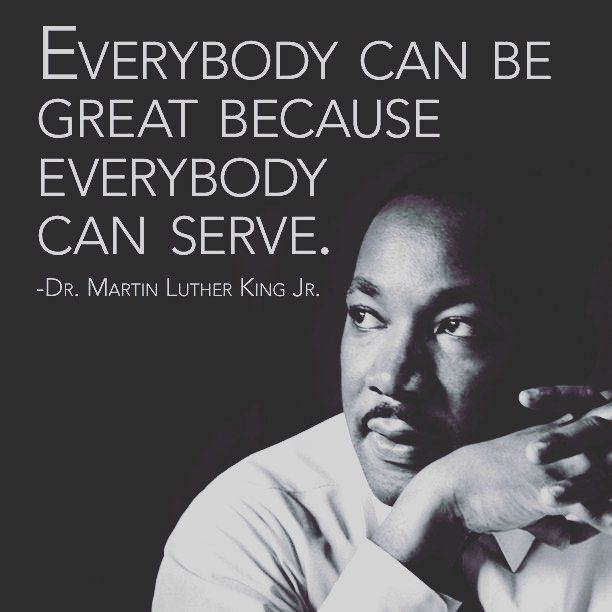 Everybody can serve! Embrace your brand & step out