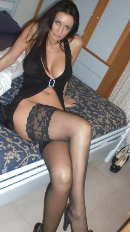 Hot mature in stockings