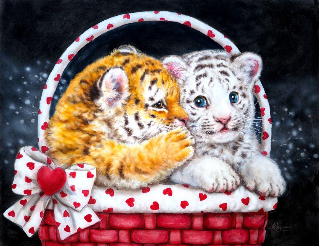 Тигрята картинки с надписями
