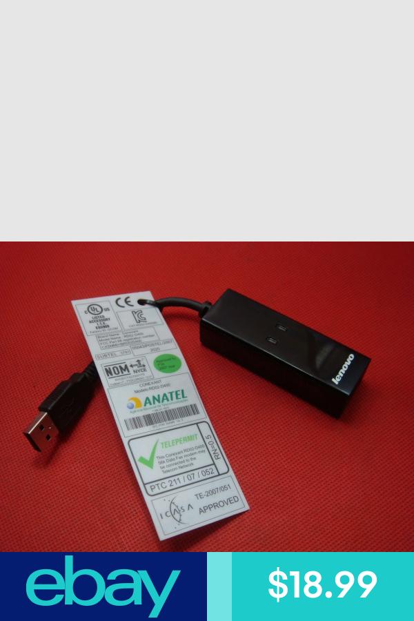 Lenovo IBM USB 56K External Dial Up Data Fax Modem Windows