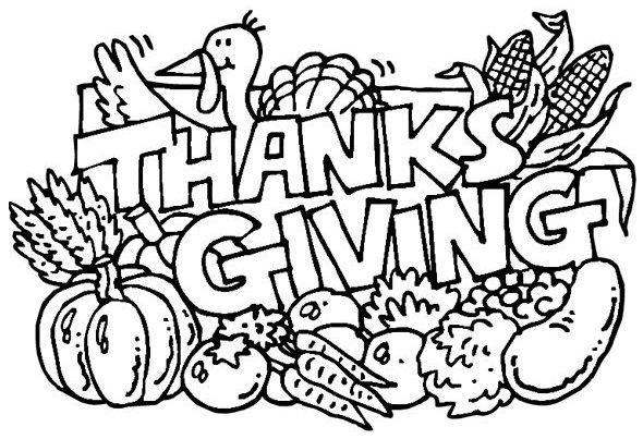 thanksgiving day coloring for kids thanksgiving coloring pages kidsdrawing free coloring pages online - Thanksgiving Coloring Page Free