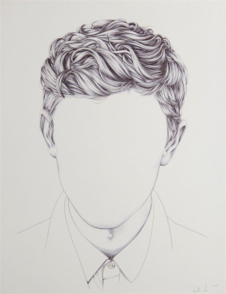 Henrietta Harris Zeichnet Kopfe Ohne Gesichter Haare Zeichnen Frisuren Zeichnen Gesichter Zeichnen