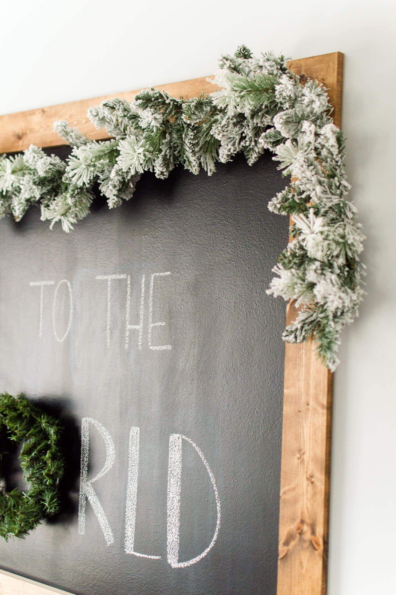Christmas Chalkboard in the Breakfast Nook #christmaschalkboardartideas Christmas Chalkboard in the Breakfast Nook / ahostinghome.com // christmas chalkboard. christmas chalkboard art. christmas chalkboard signs. christmas chalkboard ideas. christmas chalkboard easy. christmas chalkboard christian. christmas chalkboard DIY. christmas chalkboard quotes. christmas chalkboard wall. christmas chalkboard simple. christmas chalkboard Jesus. christmas chalkboard farmhouse. christmas chalkboard kitchen. #christmaschalkboardartideas