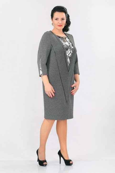 0d8c7566a91 Платья и костюмы для полных женщин белорусской компании Madame Rita 2017  Корпоративная Одежда