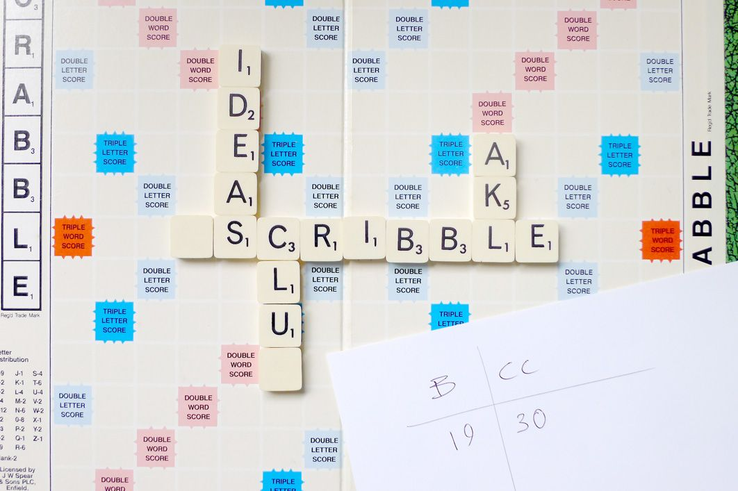 Scribbleakl No Flyer Scrabble Letters Venue And Time On Score