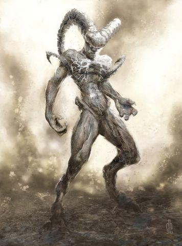 Artista cria versão monstruosa dos signos do zodíaco   Áries