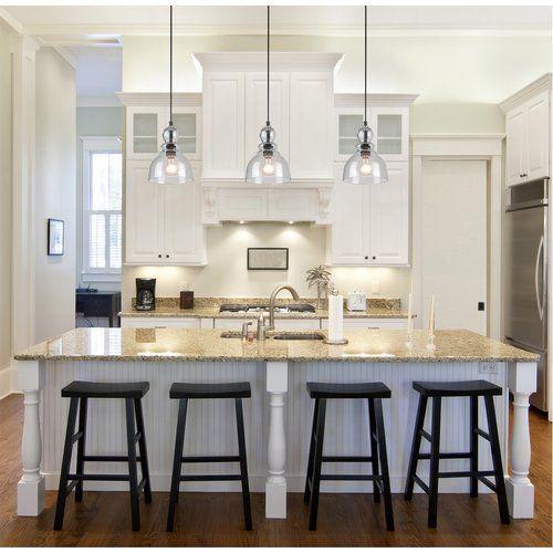 Kaitlynn 1 Light Mini Pendant Birchlane Kitchen Design Kitchen Lighting Design Kitchen Lighting Fixtures
