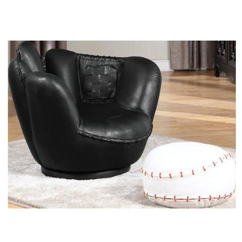 Allstar Baseball Chair Ottoman Shopko Baseball Chair Chair And Ottoman Set Chair And Ottoman