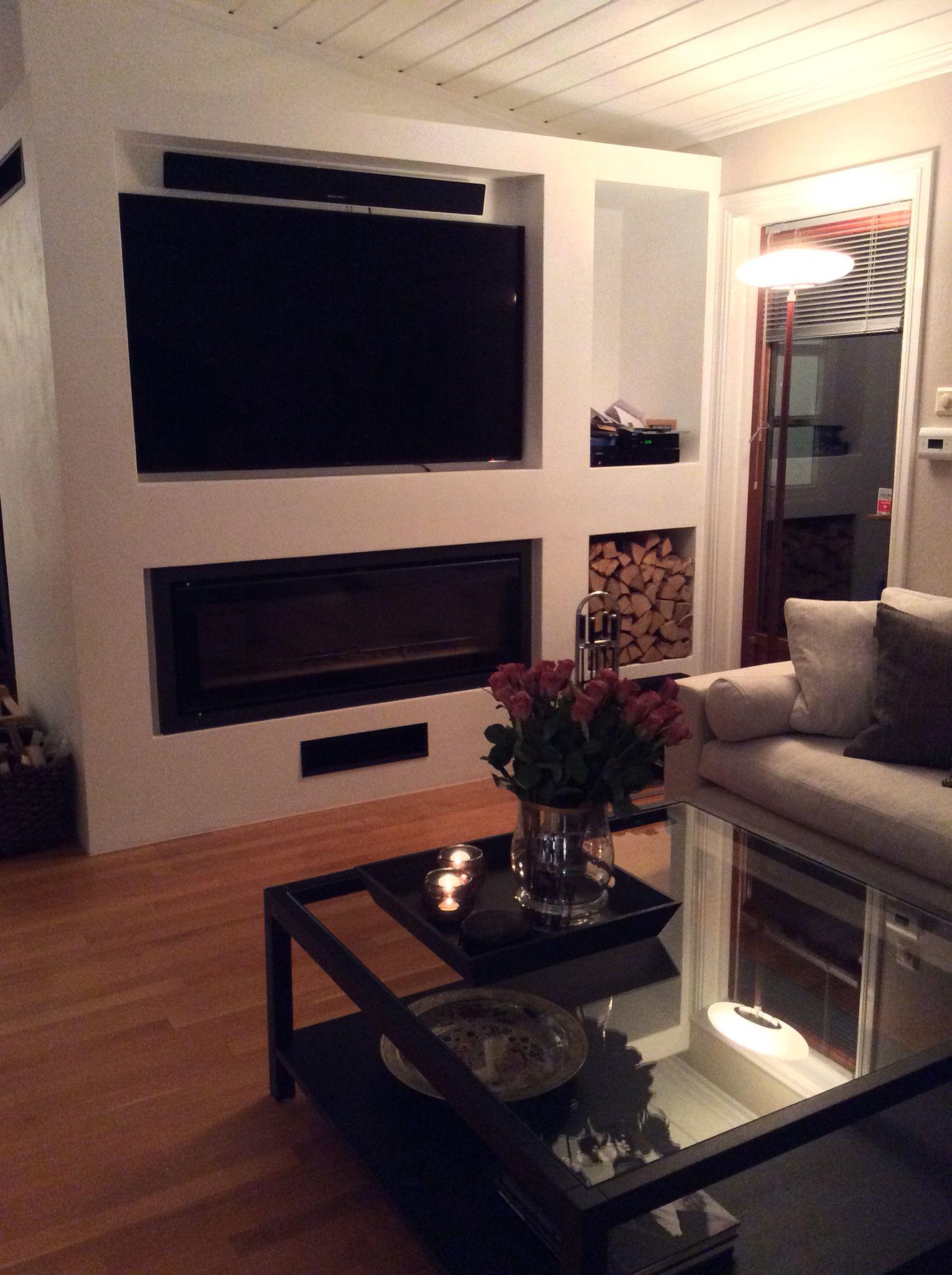 for lene interir tegne kombinert peis og tv vegg interior design inspiration