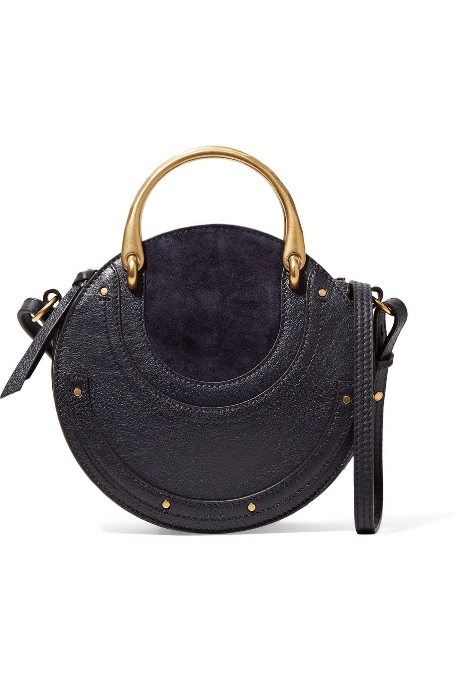 The Designer Handbags Worth Investing In For 2018 Chloe Pixie Top Handle Suede And Leather Bag From Instyle
