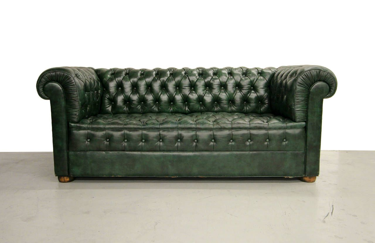 Green Chesterfield Sofa For Sale | Home Sofa