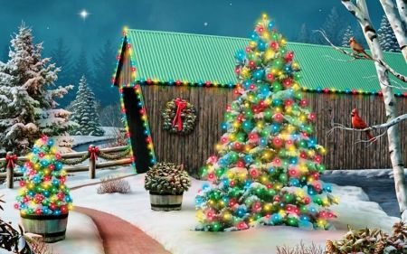 Christmas bridge... - Bridges Wallpaper ID 1626922 - Desktop Nexus Architecture