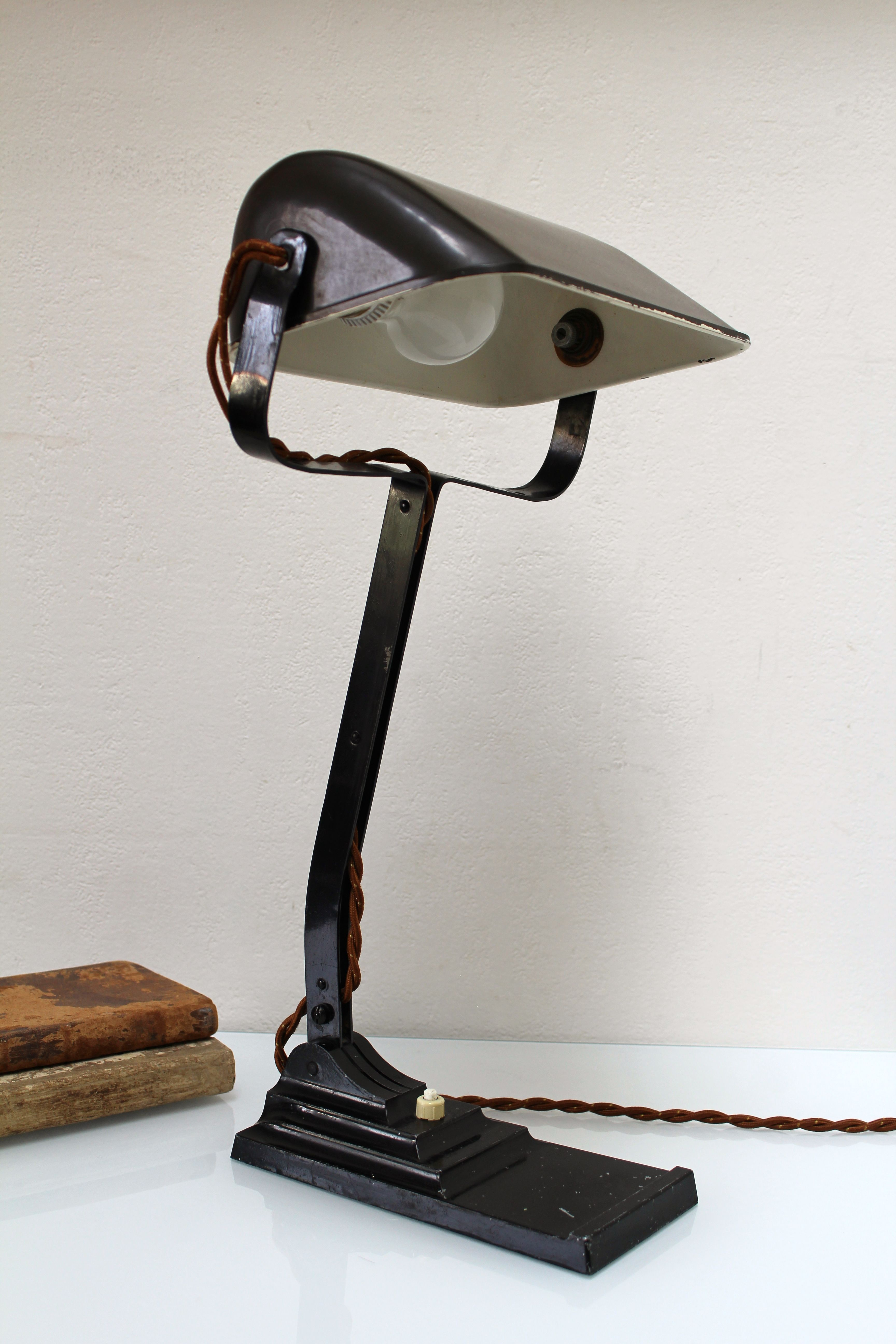 lamp century vintage lomb cityfoundry articulating desk bausch img by mid and table