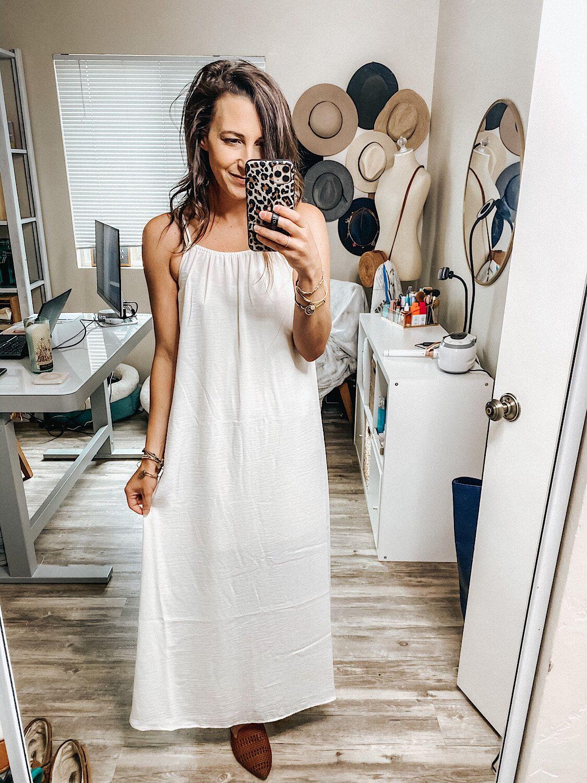 New Styles At Target Womens Sleeveless Dress Basic Maxi Dress Dressy Summer Dresses [ 1500 x 1125 Pixel ]
