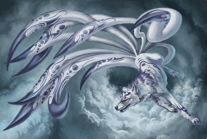 Izanagi, the Nine-Tailed Wolf (Summoning Contract) D187744b791d415a70721d54492c0a45