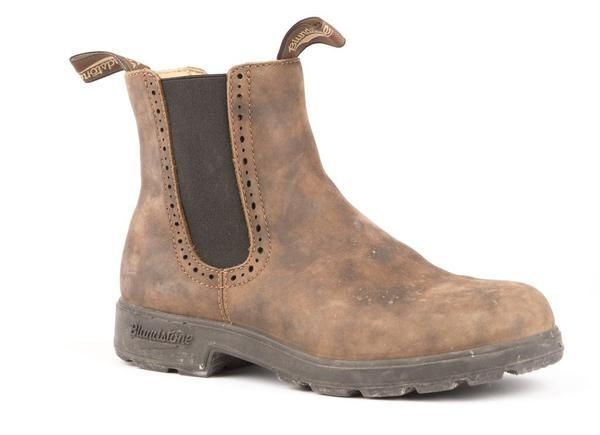 Blundstone #1351 - Girlfriend Boot (Rustic Brown) | cloth