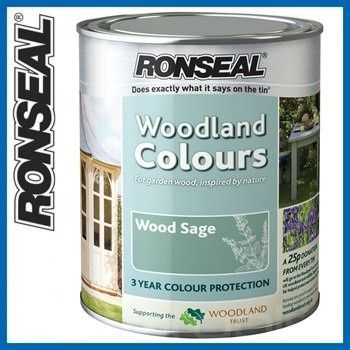 Ronseal Garden Furniture Paint Wood Sage 2.5 Litres   Garden ...