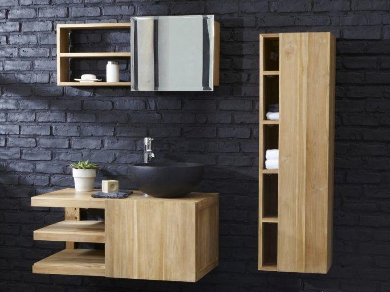 12 Beaux Meubles Sous Vasque En Bois Waschbeckenunterschrank Badezimmer Renovieren Badschrank