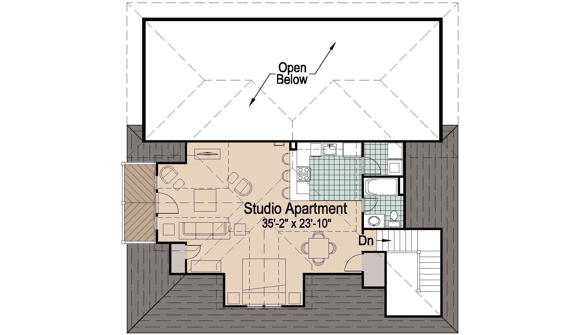 Rv Garage Apartment Floor Plans