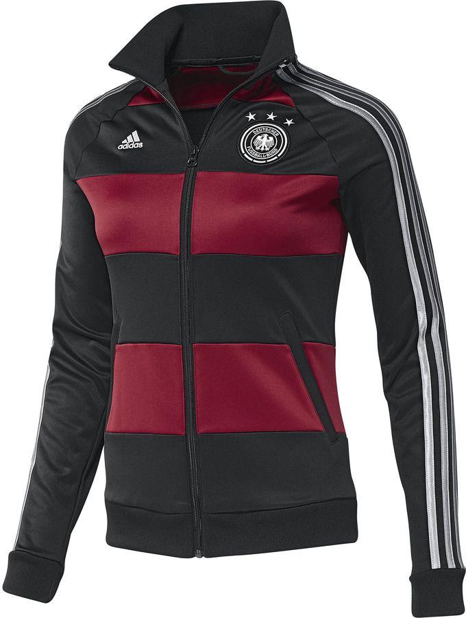 adidas Deutschland Trainingsjacke auf   Fan