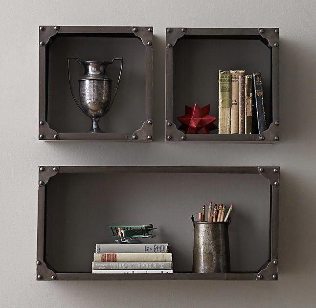 Industrial Rivet Display Shelf