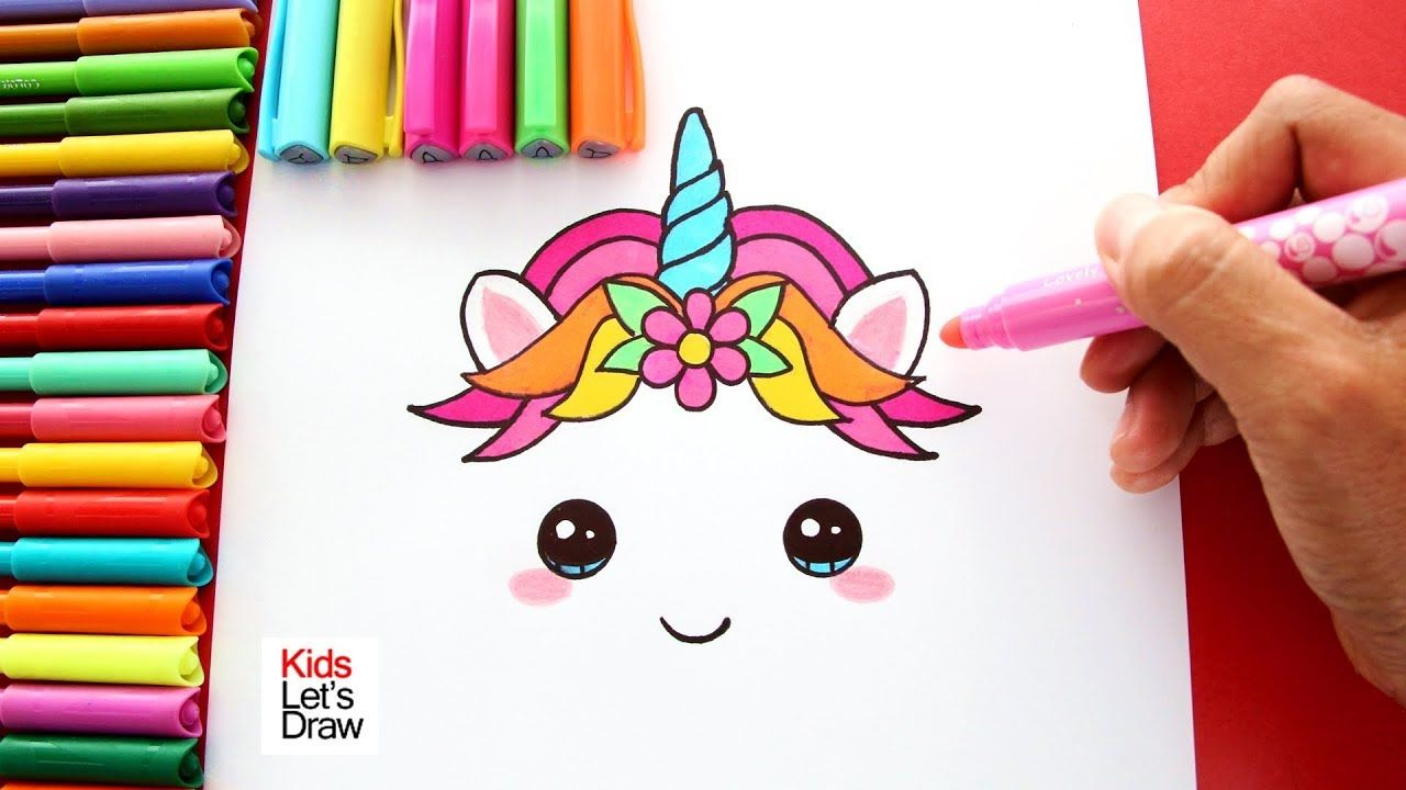 Cómo Dibujar Y Colorear Unicornio Decorar Torta De Cumpleaños Colores Pastel Youtube Como Dibujar Un Unicornio Tarjetas De Unicornio Cómo Dibujar