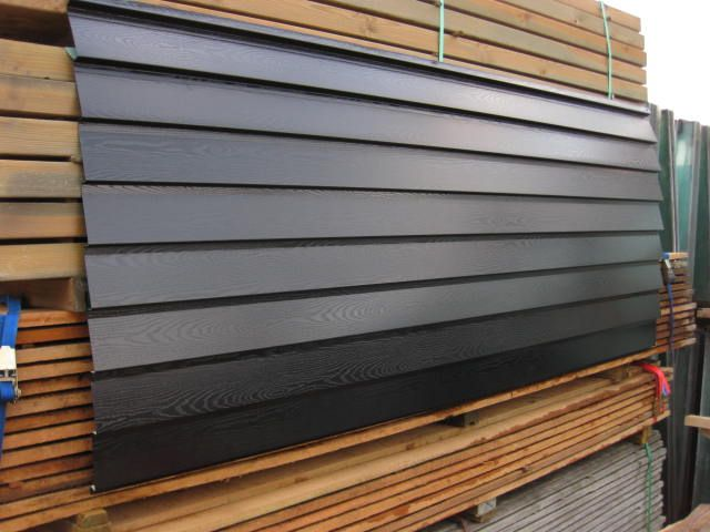 zwarte potdeksel profiel platen 3 0 meter lang huis schuur pinterest platen meters en. Black Bedroom Furniture Sets. Home Design Ideas