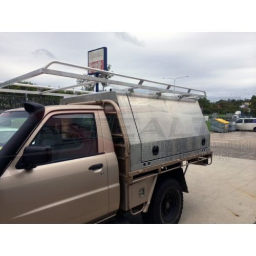Aluminium Canopy with Roof Racks Doors u0026 Spare Tyre Mount  sc 1 st  Pinterest & Aluminium Canopy with Roof Racks Doors u0026 Spare Tyre Mount ...