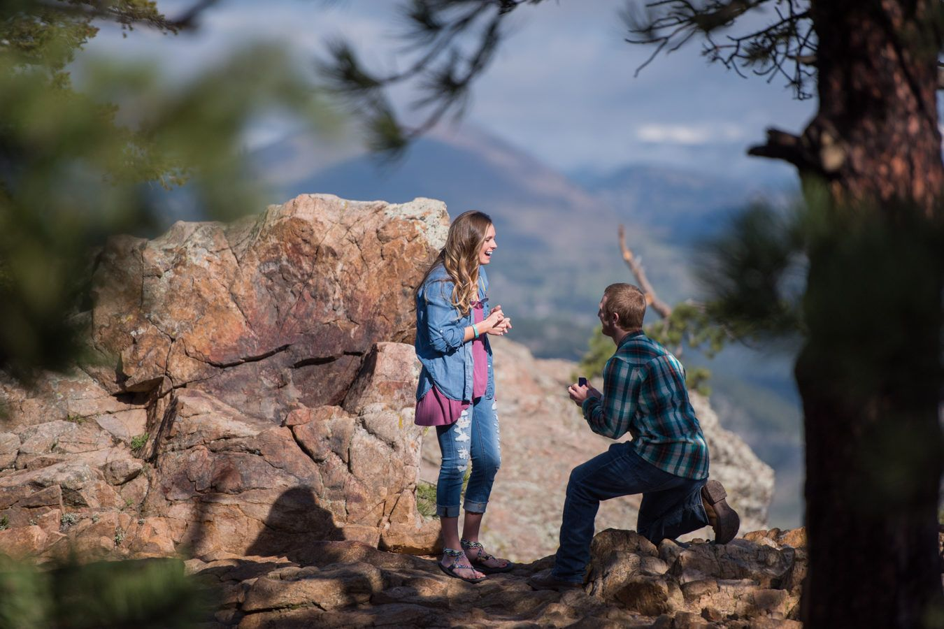 Boulder Proposal at Lost Gulch Overlook Engagement Location Idea