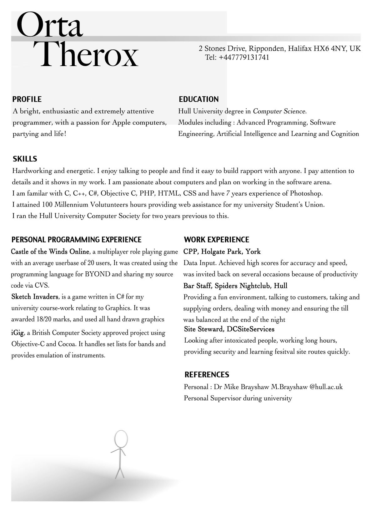 Resume For First Job Interviewing Applying And Getting Your First Job In Ios  Artsy