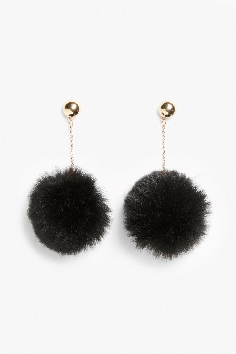 da2f9da8fa834 Puff ball earrings | accessorize. | Earrings, Fashion, Women's earrings