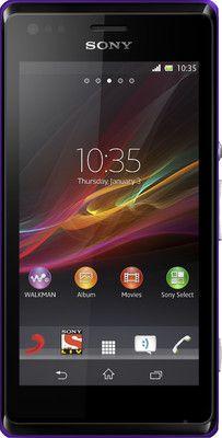 35% OFF on Sony Xperia M C1904 Purple, 4 GB