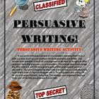 Teach students how to write a good persuasive essay. With this format students will learn to master it. The six page packet contains detailed parag...