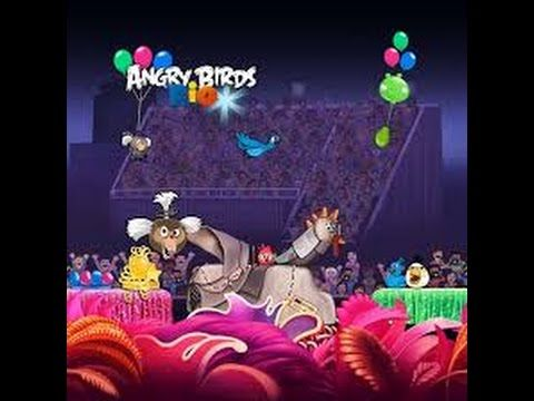 Angry Birds Rio Carnival Upheaval Level 2 Walkthrough Con Imagenes