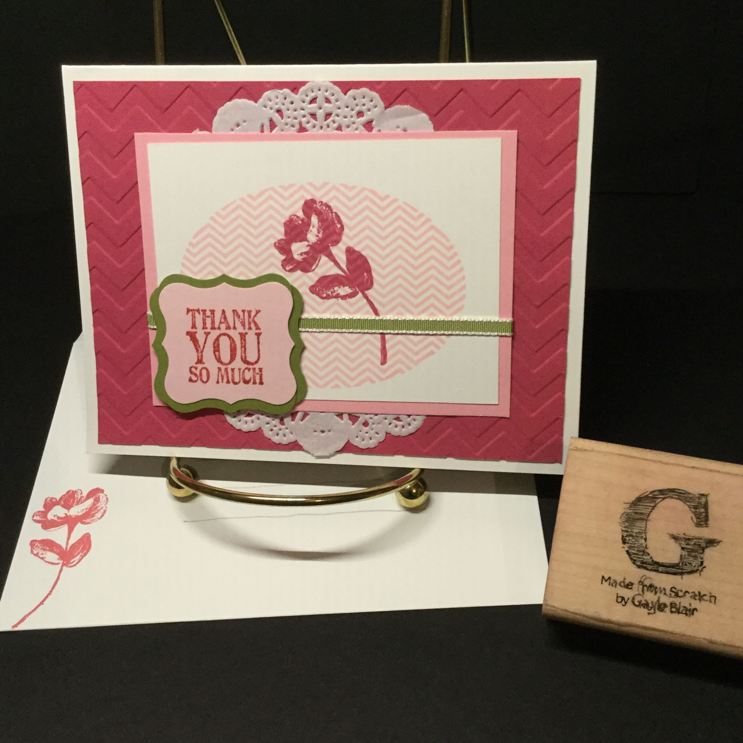 Stampin' Up: Oh, Hello with Lots of Thanks and Pretty Petites