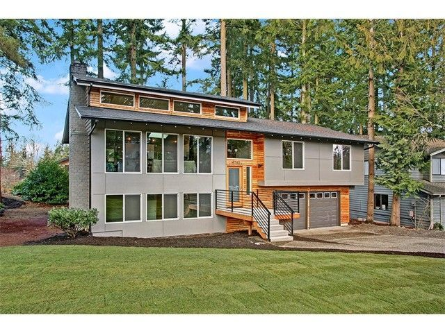 Image result for exterior update for 1980s contemporary house
