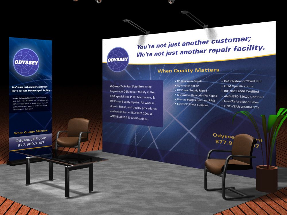 Trade Show Display Design by Envision Creative Group | Corporate ...