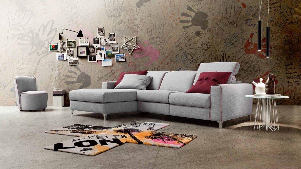 Divano con penisola domus arredi lissone divani nel 2019 for Domus arredi lissone