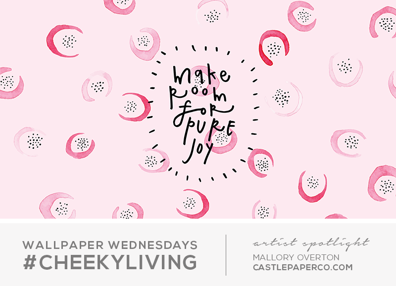 Wallpaper Wednesdays 31 | Artist Feature - Mallory Overton — Hello Lov
