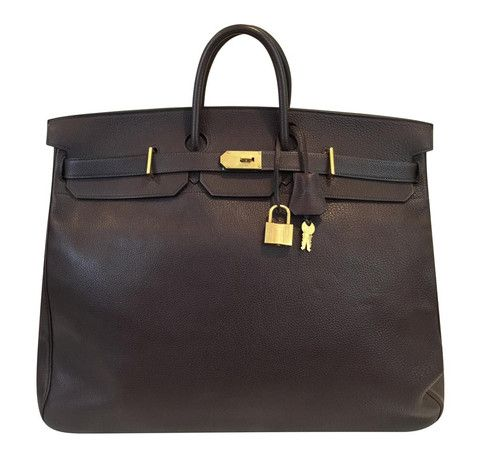 4b8f26735ae Gorgeous Hermes Birkin HAC bag 55cm. See our full collection!  baghunter