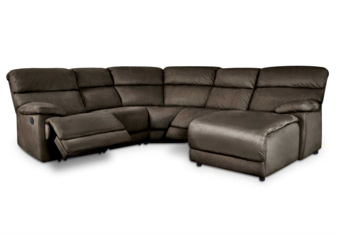 furniture village leather corner sofa bed black vinyl sectional rhf cupola gorgeous living room from