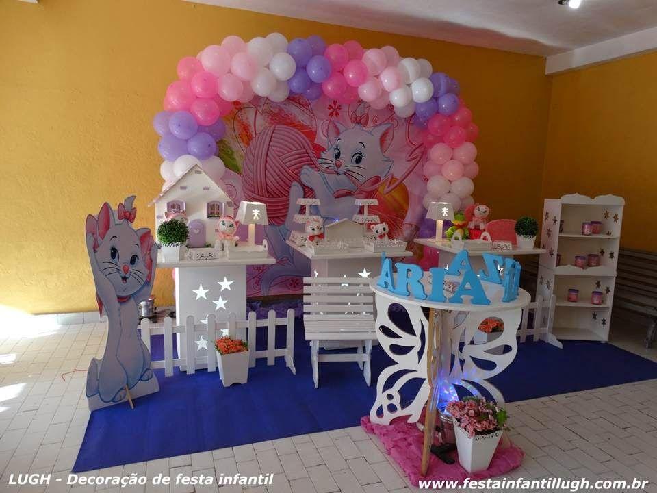 Tema Da Gata Marie Para Decoracao De Festa Infantil Decoracao