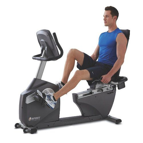 Spirit Xbr25 Recumbent Bike Read More Reviews Of The Product By Visiting The Link On The Image Recumbent Bike Workout Biking Workout Exercise Bikes