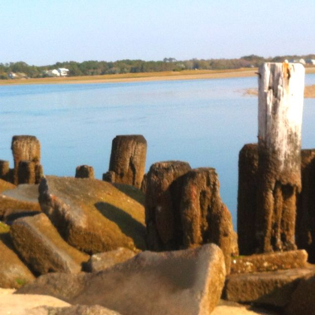 Pawleys Island Beach: North End Pawleys Island...I Think I See The Tip Of Our