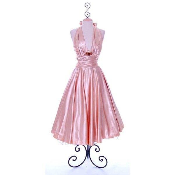 Vintage Tea Length Dance Dresses