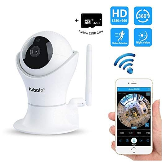 Baby Monitor with Camera 1080p HD Night Vision Wireless