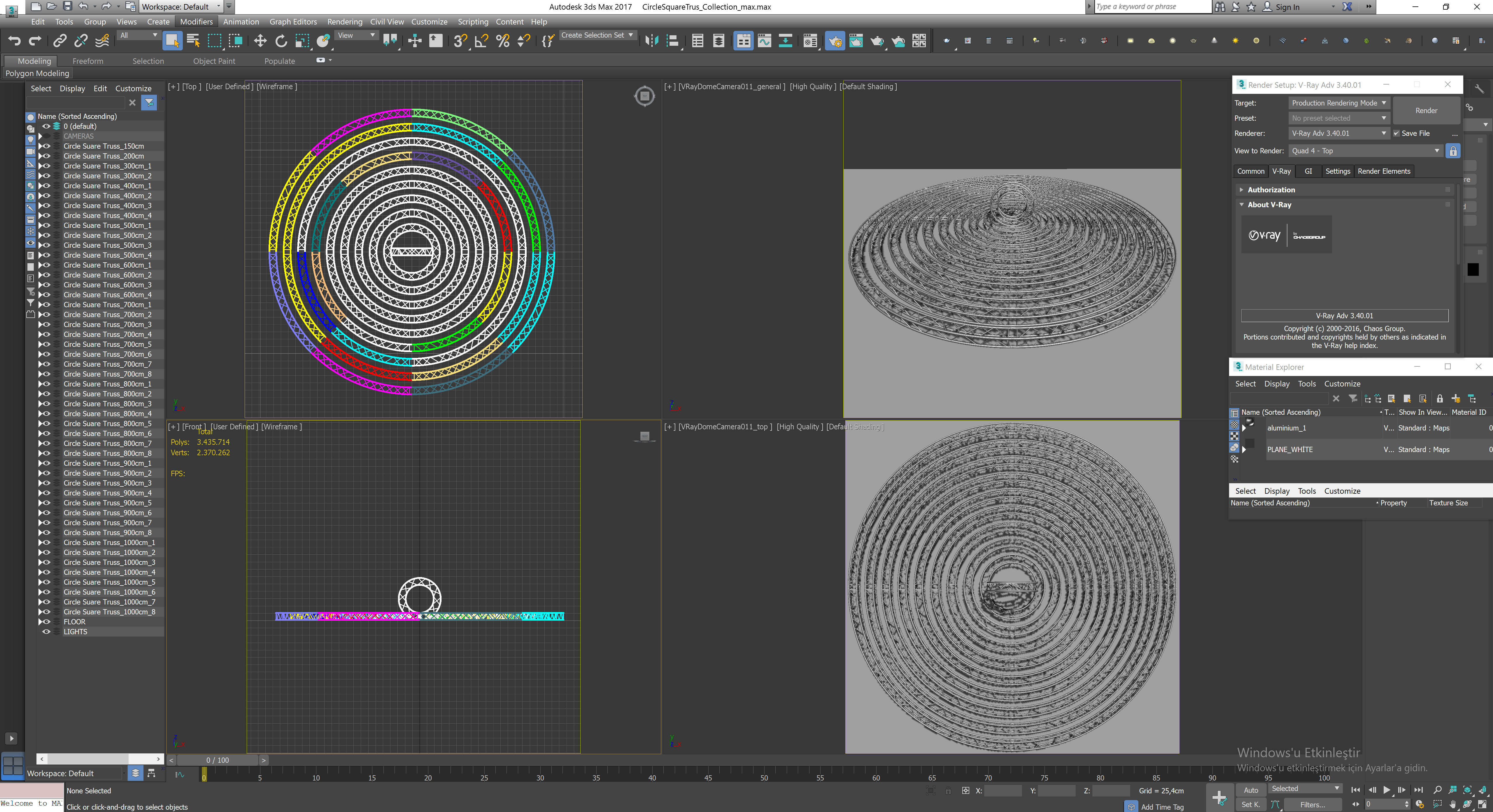 Circle Square Truss Modular Collection 10 Modular Pieces Truss Square Circle Modular Infographic Design Inspiration Square Infographic Design