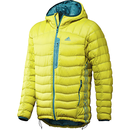adidas terrex hooded light down jacket fashion. Black Bedroom Furniture Sets. Home Design Ideas