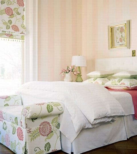 romantic french country style bedroom decorating idea - Romantic Country Bedroom Decorating Ideas
