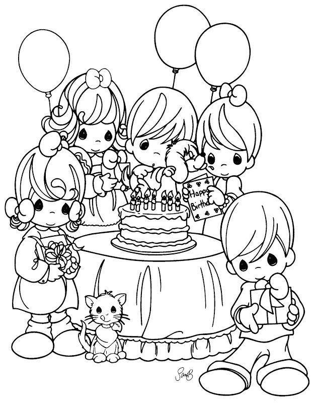 Coloring Pages: precious moments | Coloring - Precious Moments ...